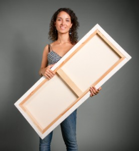 Hand made canvases on the sunshine coast
